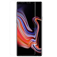 Galaxy Note9 液晶保護フィルム 光沢 指紋防止 液晶保護 保護 フィルム フルカバー 3D形状 AIF-3DGXNOTE9-CL