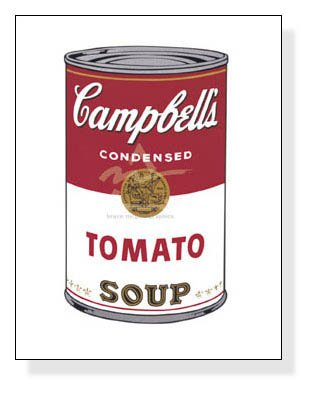 ポスター アンディ ウォーホル キャンベルスープ缶 I (トマト) 1968...