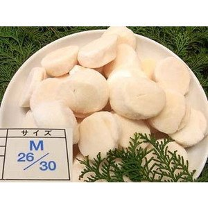 ほたて貝柱 M サイズ 1kg 【冷凍】/(6箱)