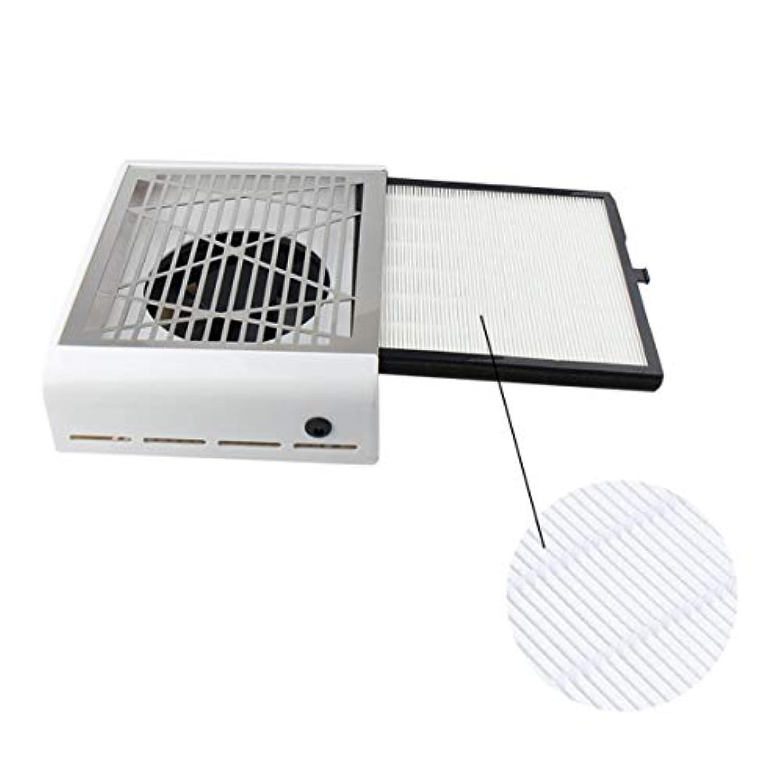キャンパス者消化器Intercorey Mini Nail Vacuum Cleaner Grind Surface With 40W High Power Filter Pull-Out Desktop Nail Cleaner Nail...