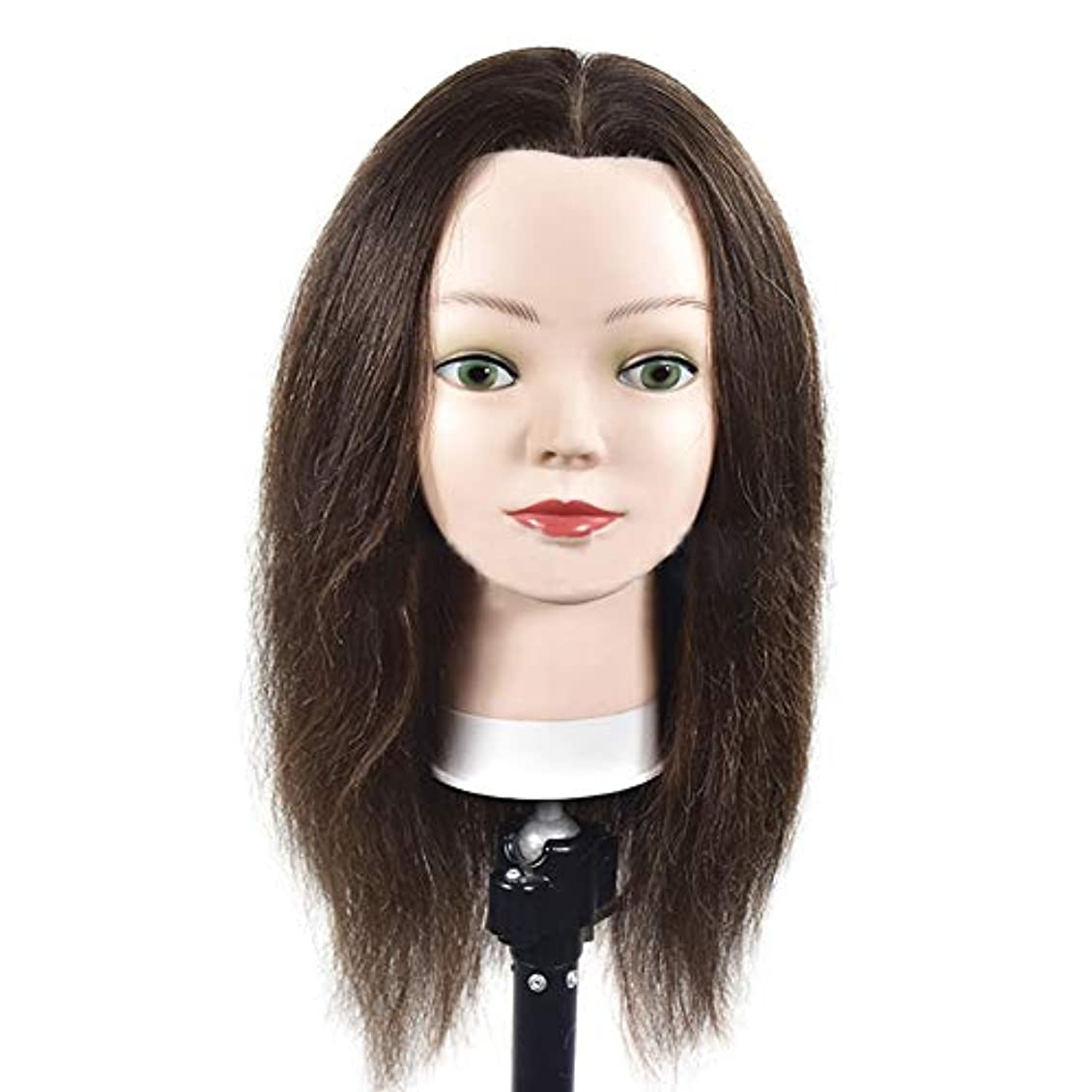 灌漑小説家中断サロン髪編組理髪指導ヘッドスタイリング散髪ダミーヘッド化粧学習マネキンヘッド