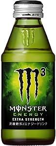 アサヒ飲料 モンスターエナジー M3 ワンウェイびん150ml×24本【×2ケース:合計48本入】