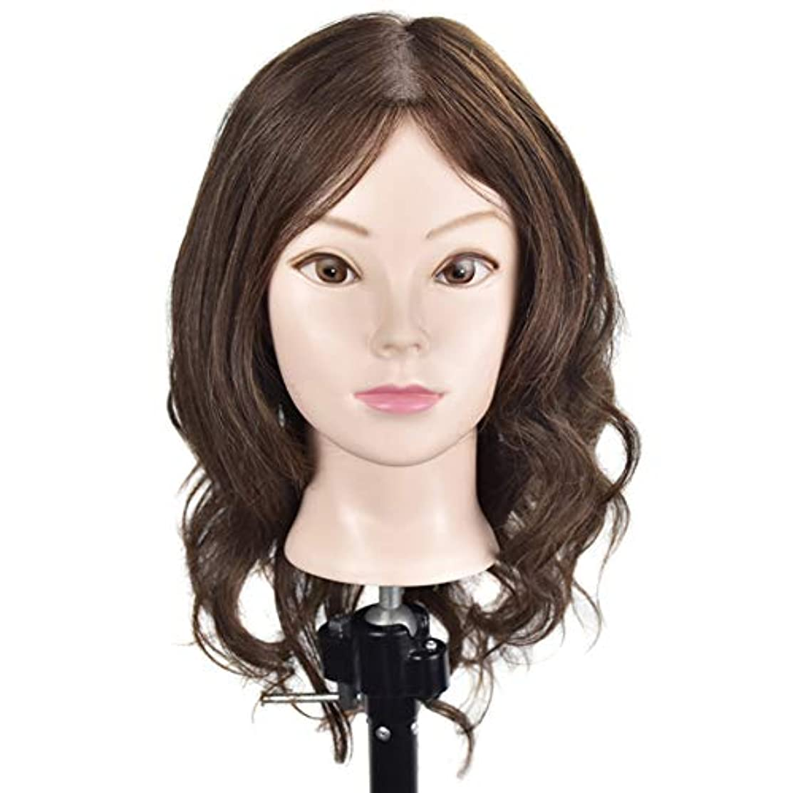 サバント民間乗り出す専門の練習ホット染色漂白はさみモデリングマネキン髪編組髪かつら女性モデルティーチングヘッド