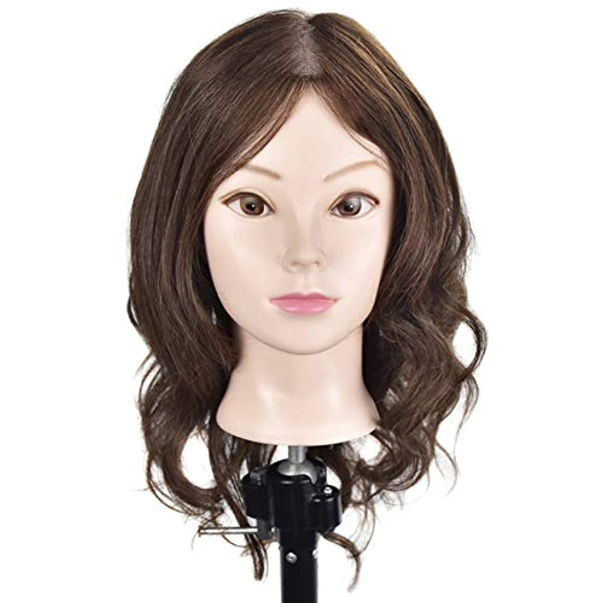 静的簡単な楽な専門の練習ホット染色漂白はさみモデリングマネキン髪編組髪かつら女性モデルティーチングヘッド