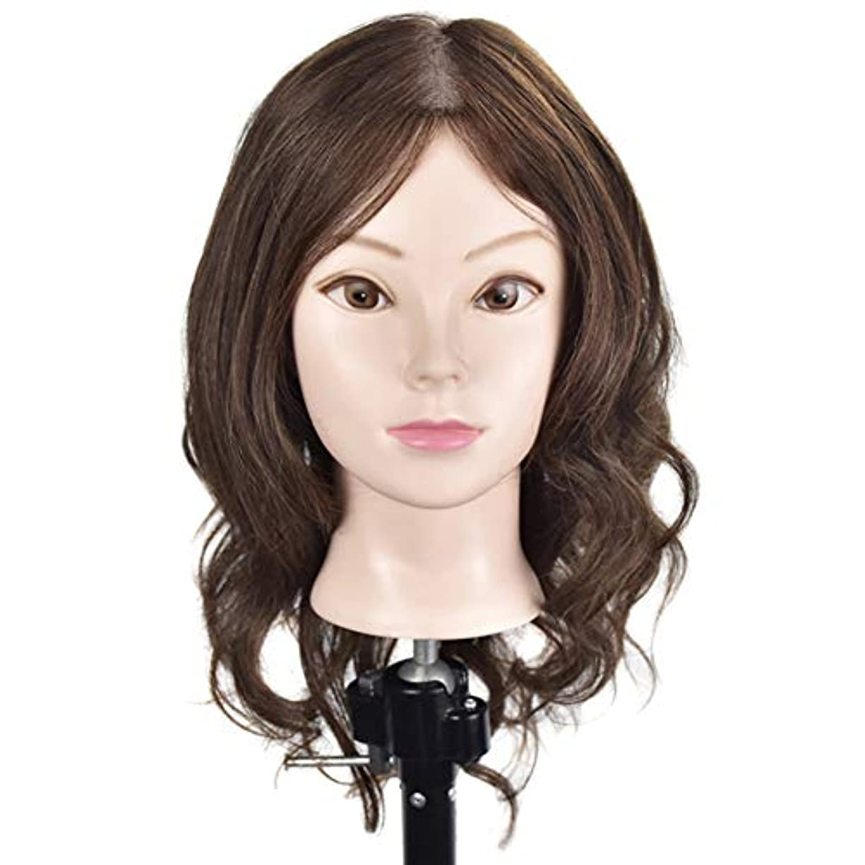 粘土良さ青専門の練習ホット染色漂白はさみモデリングマネキン髪編組髪かつら女性モデルティーチングヘッド