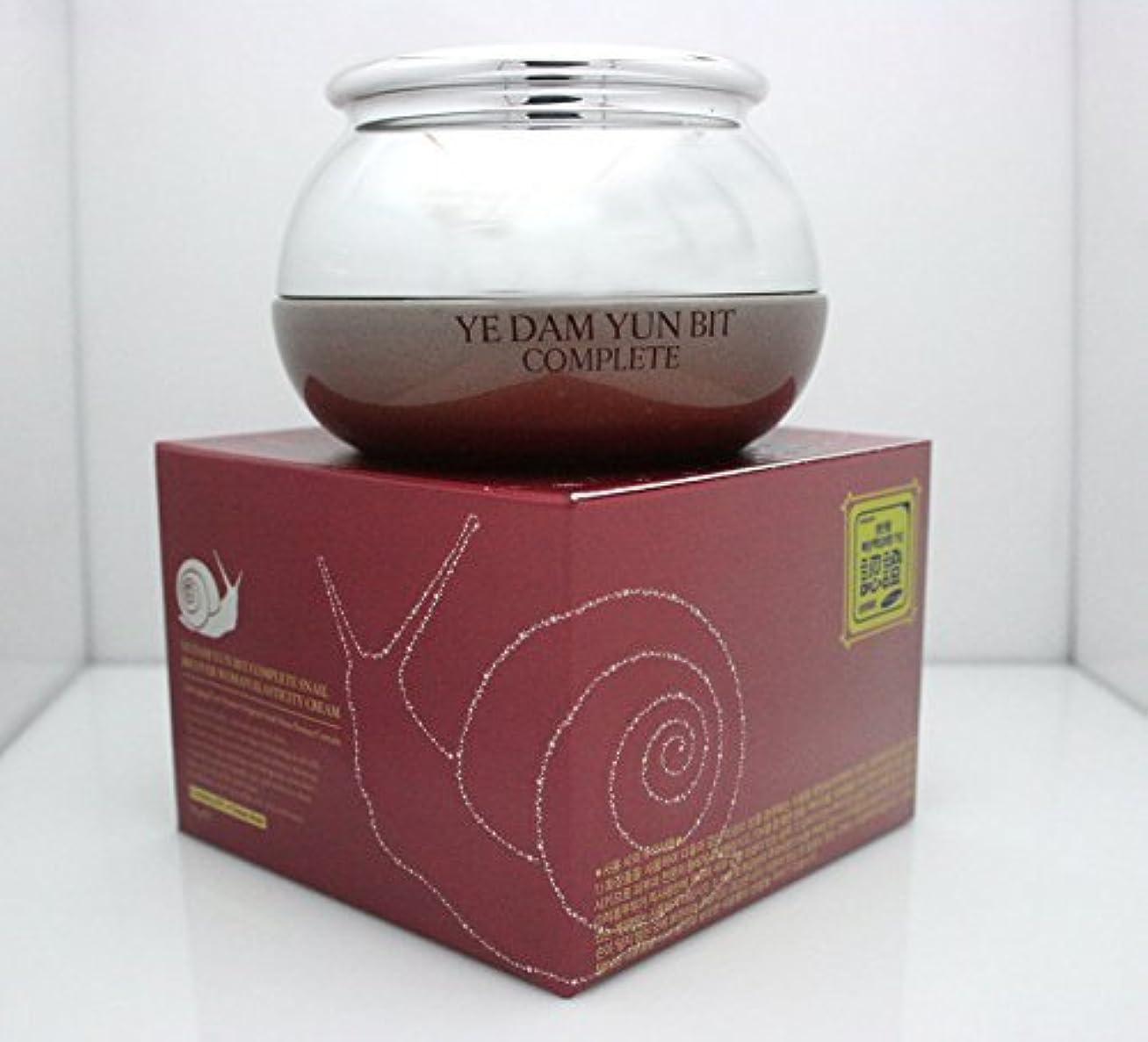 然とした人形メール[YEDAM YUNBIT] 完全なカタツムリ?リフト?リフティング?クリーム50g/韓国化粧品/Complete Snail Recover Lifting Cream 50g/Korean cosmetics [並行輸入品]