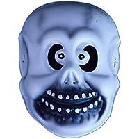 バラエティ本舗 スカル お面 [ かぶりもの 仮面 マスク EVA樹脂 骸骨 がいこつ ガイコツ 仮装 子供 キッズ なりきりマスク ]