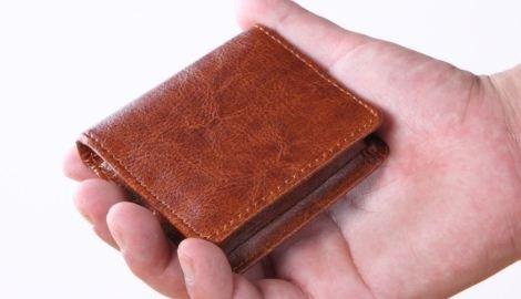[Libero] コンパクト コインケース 小銭入れ 小さい メンズ (ブラ...