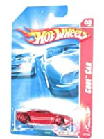 Hot Wheels 2007 Code Car Red Muscle Tone #3 of 24 #087 1:64 Scale