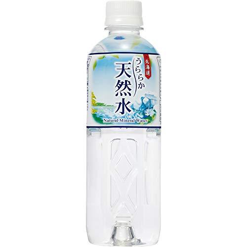 神戸居留地 北海道うららか天然水 ペット 500ml×24本
