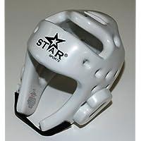 STARスポーツテコンドーTKD Kickboxingヘルメットヘッドギアガードプロテクターxs-lホワイト