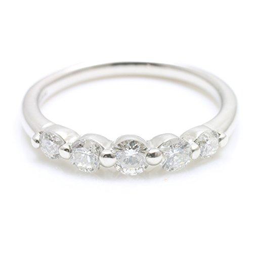 [ココカル]cococaru ダイヤモンド リング K18 ホワイトゴールド 指輪 天然 ダイヤ 日本製