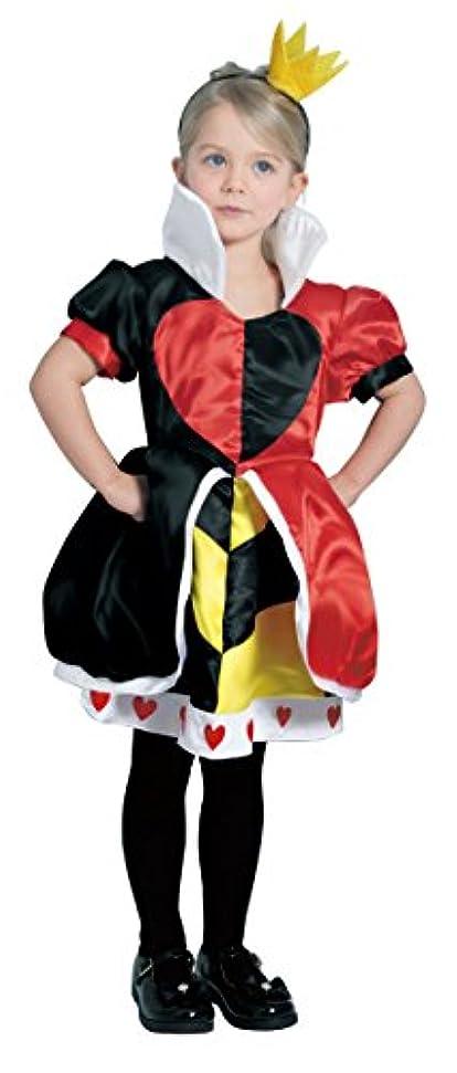 暖かさ不従順絶望(ディズニー)DISNEY 女の子 80-140cm ハートの女王 クイーンオブハート なりきりコスチューム/衣装【ru802061】