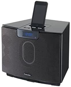 プリンストンテクノロジー iPod対応 2.1chマルチメディアスピーカー&ワイヤレスリモコン「ZOOM BOX」 PSP-ZBB