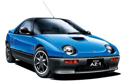 青島文化教材社 1/24 ザ・モデルカーシリーズ No.38 マツダ PG6SA AZ-1 1992 プラモデル