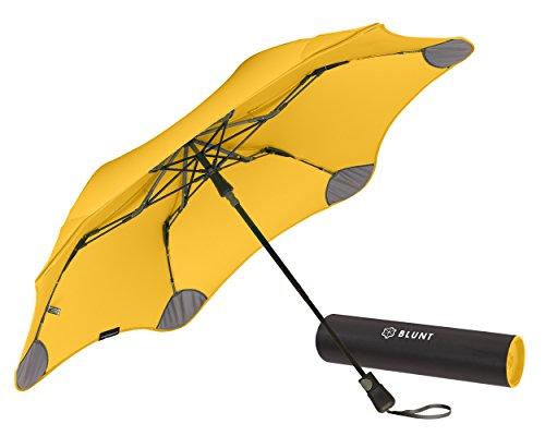 【正規輸入品】 ブラント XS メトロ 全8色 折りたたみ傘 オートオープン イエロー 6本骨 51cm グラスファイバー骨 耐風傘 A2457-50