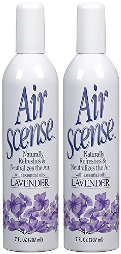 曖昧な鉱夫飢Air Scense AIR SCENSEエアフレッシュナー、ラベンダー、7 FZ