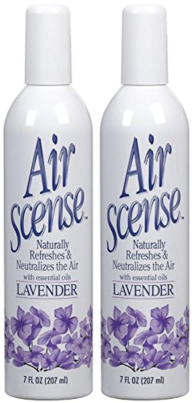 カビ徒歩で宿泊Air Scense AIR SCENSEエアフレッシュナー、ラベンダー、7 FZ
