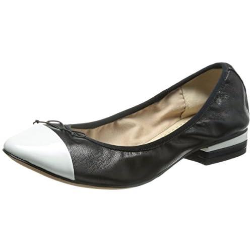 [クラークス] Clarks Ditsy Dress 26106536 Black White Leather (ブラックホワイトレザー/065)