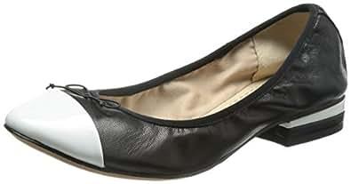 [クラークス] Clarks Ditsy Dress 26106536 Black White Leather (ブラックホワイトレザー/035)
