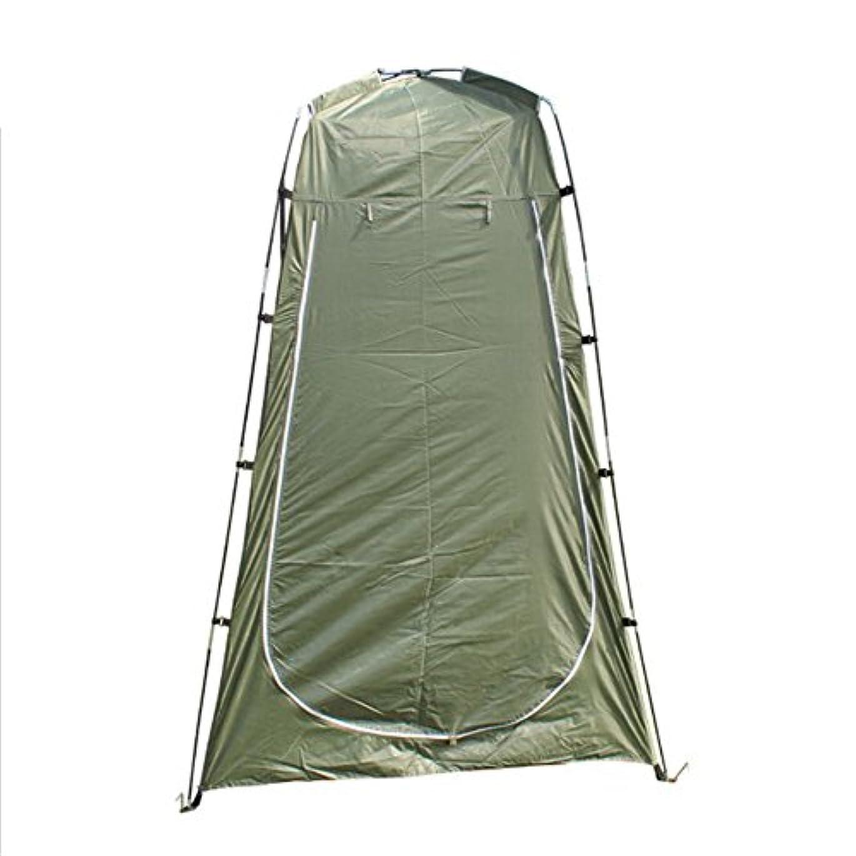 アレルギー性雪山岳BeesClover 軽量 ポータブル キャンプ シャワー テント オーニング キャンバス 折りたたみ アウトドア トイレ 部屋 プライバシー ショーチェンジ 服