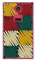 携帯電話taro docomo AQUOS ZETA SH-03G ケース カバー (クレヨンチェック) SHARP SH-03G-TAR-1442
