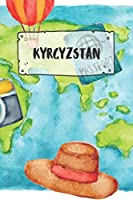 Kyrgyzstan: Ruled Travel Diary Notebook or Journey  Journal - Lined Trip Pocketbook for Men and Women with Lines