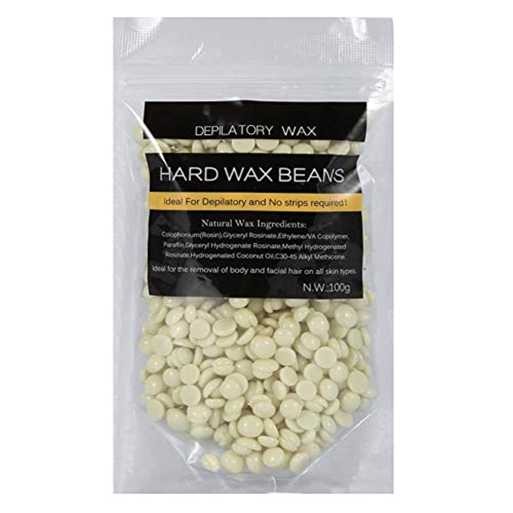 チャーター同意するシダ100g脱毛ワックス豆、10種類腕脚脱毛用ストリップ脱毛ハードワックス豆(Cream)
