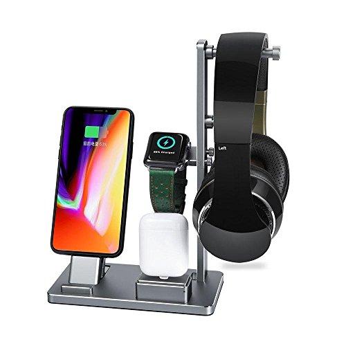 Savman Apple Watch 充電スタンド多功能 6 IN 1 卓上...