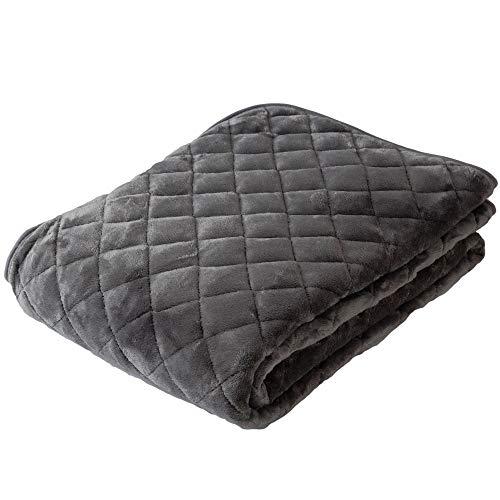 アイリスプラザ 敷きパッド シングル ベッドパッド プレミアムマイクロファイバー 洗える 静電気防止 とろけるような肌触り fondan 品質保証書付 グレー 100×200cm