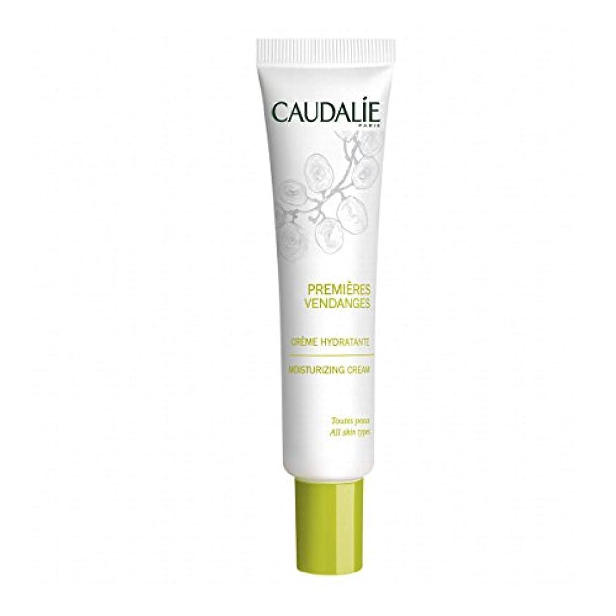 厳しい娯楽球状Caudalie Premieres Vendanges Moisturizing Cream 40ml [並行輸入品]