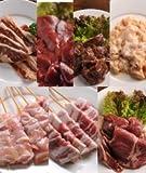 肉のあおやま これさえあれば大宴会! 楽々パーティーセット(味付きとり串・味付き豚串・特製ラム肉ジンギスカン・味付き牛カルビ・味付き牛サガリ・味付き牛タン・豚みそホルモン)