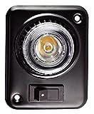 日惠製作所(Nikkei) 車載用照明灯 パワーライト アジャストタイプ フレーム黒 NY511S-3W/B