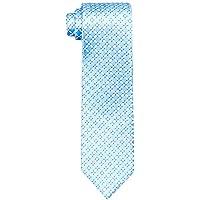 Van Heusen Men's Silk Tie, Blue Diamond Check, One Size