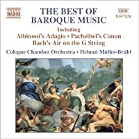 VARIOUS BAND BEST OF BAROQUE MUSIC (COLOGNE CHAMBER ORCHESTRA)