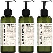 Common Ground Natural Hand Wash Soap, Paraben and Cruelty Free; Organic, Vegan, Plant-Based Formula, Botanical