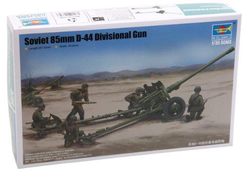 1/35 ソビエト軍 85mm師団砲 D-44