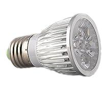 SPLamp-5w 観賞用植物育成LEDライト E26 小型スポットライト 水耕栽培 室内栽培 一般照明 植物育成用660nmLED使用 白/赤LED E26口金