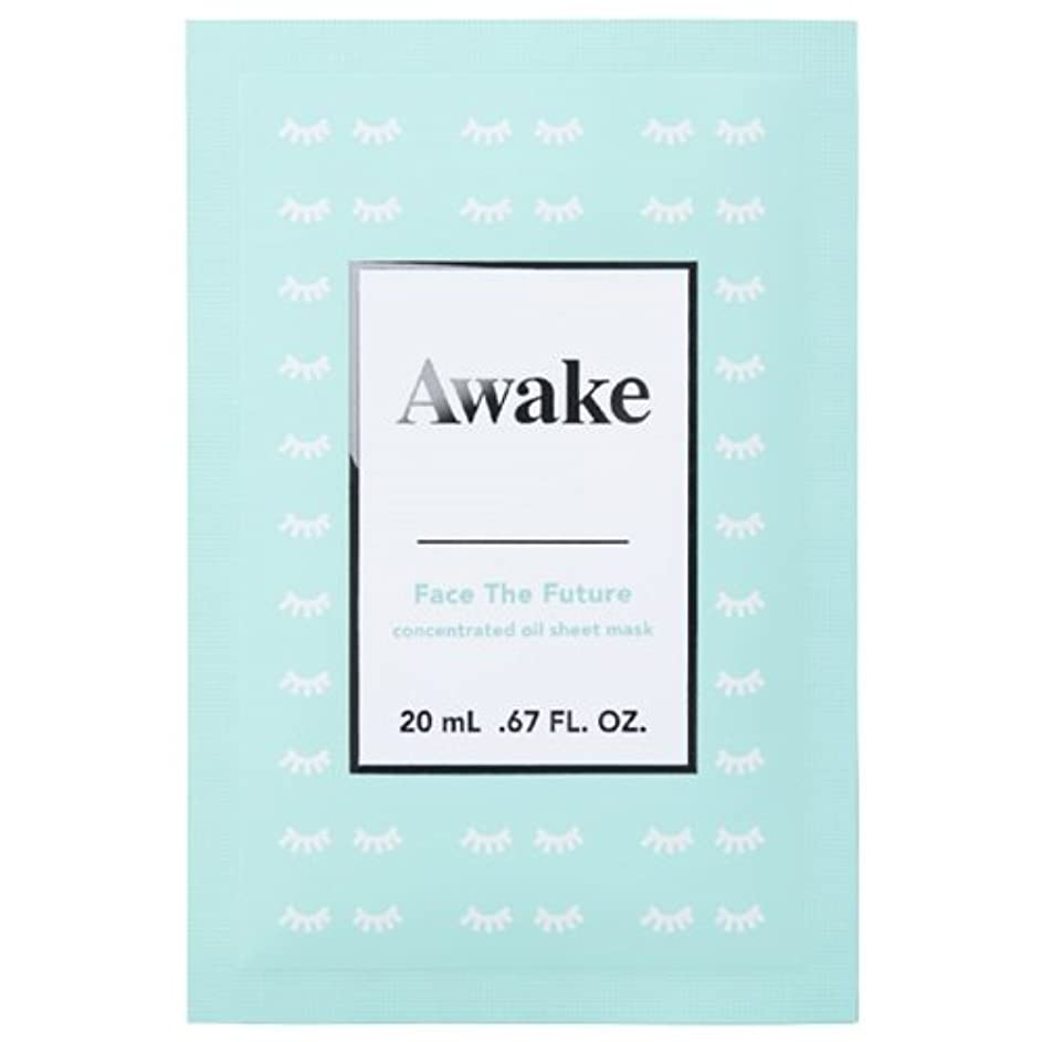 舞い上がる深い人類アウェイク(AWAKE) Awake(アウェイク) フェイスザフューチャー コンセントレイティッド オイルシートマスク (20mL × 6枚入)