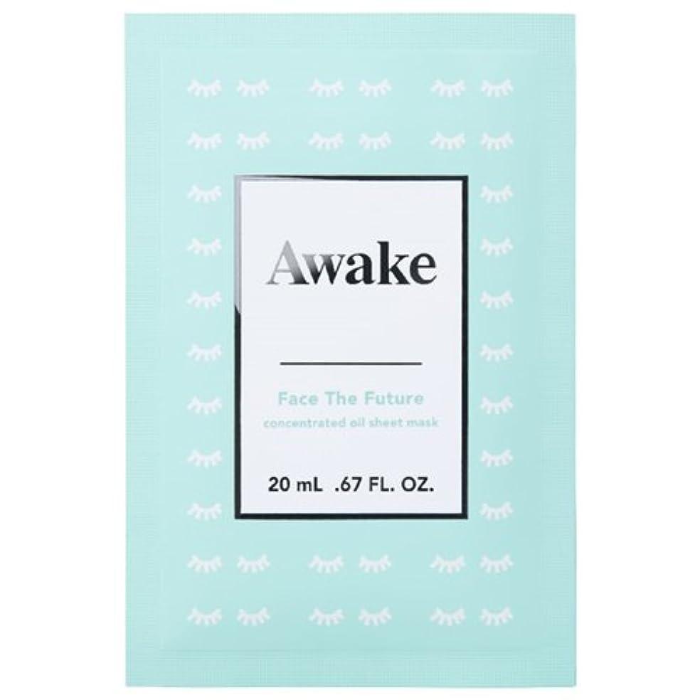 写真横たわる回転させるアウェイク(AWAKE) Awake(アウェイク) フェイスザフューチャー コンセントレイティッド オイルシートマスク (20mL × 6枚入)