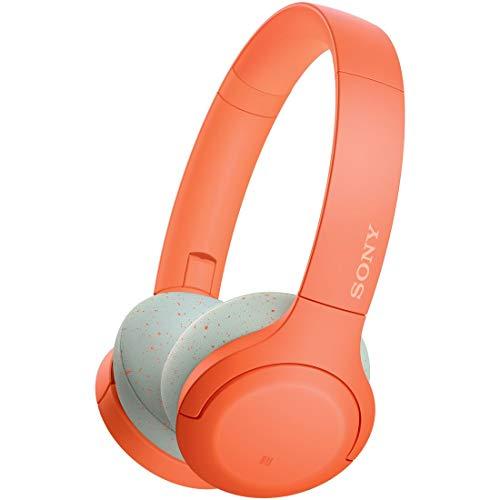 ソニー SONY ワイヤレスヘッドホン WH-H810 : ハイレゾ対応 / bluetooth / 最大30時間連続再生 / ハイレゾ相当アップスケーリング対応 タッチセンサー搭載 小型・軽量 2019年モデル オレンジ WH-H810 D