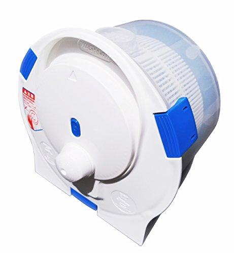 セントアーク(CENTARC) ポータブル洗濯機 ハンドウォッシュスピナー 小型 手動 脱水 ホワイト 幅27.4×奥行28.8×高さ21.4cm