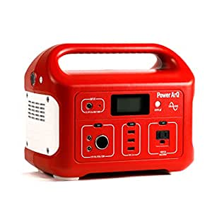 SmartTap ポータブル電源 PowerArQ レッド (626Wh/174,000mAh/3.6V/正弦波 100V 日本仕様) 正規保証2年 008601C-JPN-FS-RD