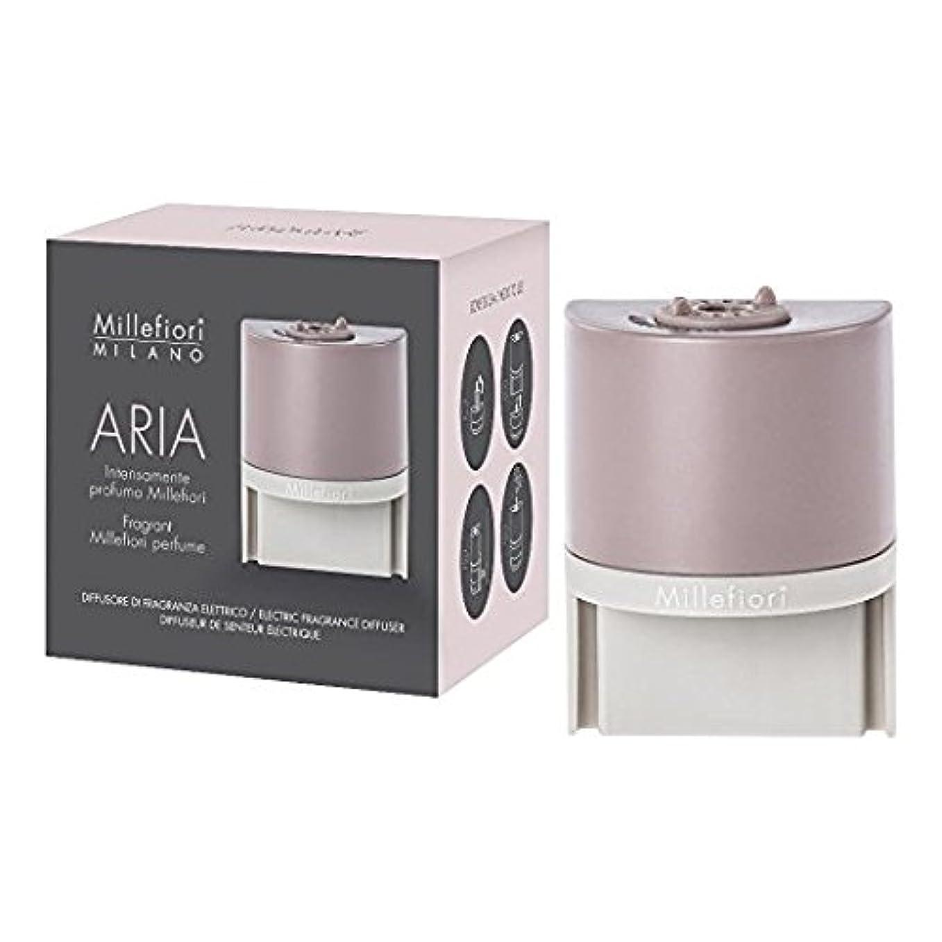 ヤング強制的薄暗いMillefiori ARIA 本体+リキッドセット プラグインディフューザー アロマ (ベルガモット)