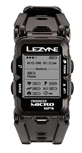 (Without Additional Devices, Black) - Lezyne Micro Drive GPS Computer