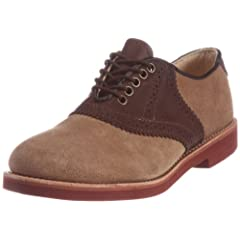 Walk-Over Saddle Classic Oxford: Beige Suede 32114