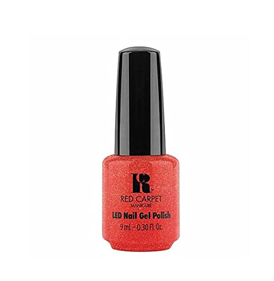 合図閃光ブローホールRed Carpet Manicure LED Gel Polish - Riding On Rodeo - 9 ml/0.30 oz
