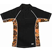 Banz S15RS-GK-8 2015 Short Sleeve Rash Guard , Girra Kool - Size 8