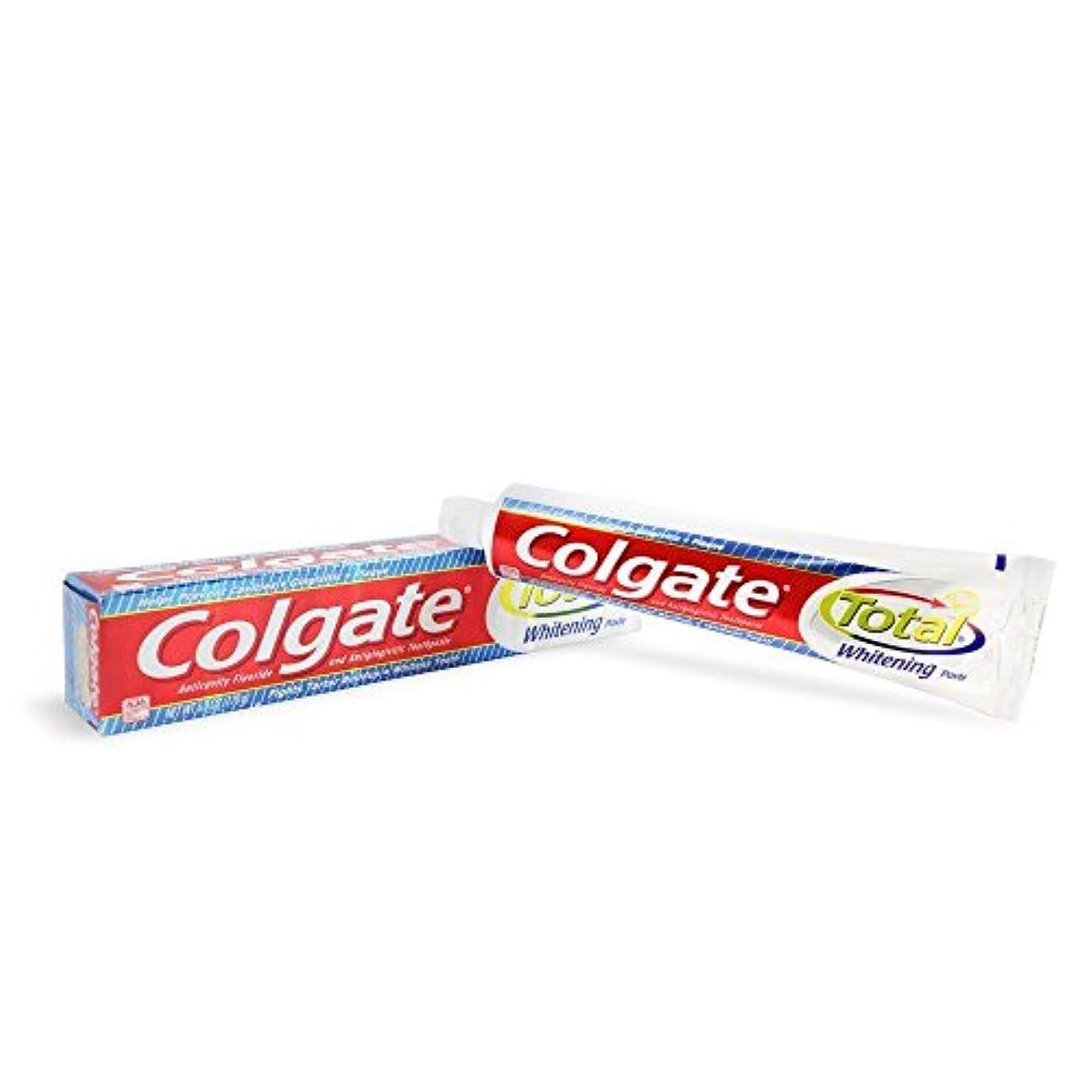 無一文ポーズ適用済みColgate トータルホワイトニング歯磨き6オズ(12パック)