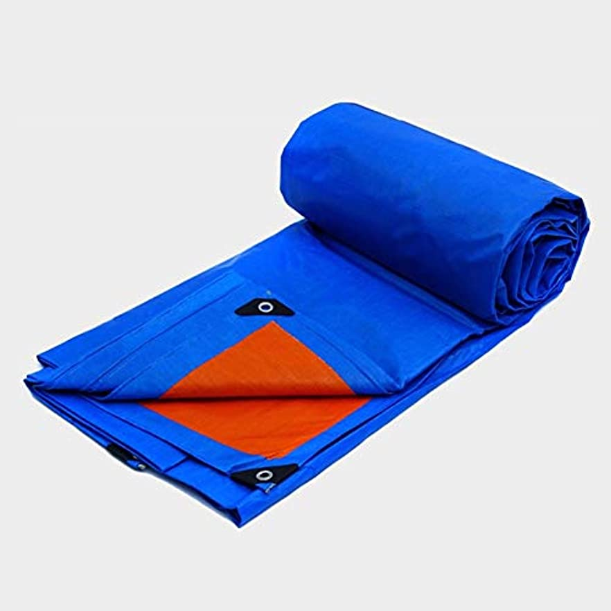 報復頑丈設置Juexianggou 屋外用ターポリン防風性日焼け止め蹴り出し用風防防弾塑性耐候性非常に高い強度 防水テントタープ
